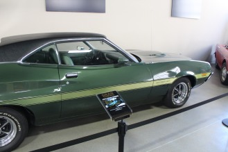 The car from the movies Gran Torino starring the respected Clint Eastwood.