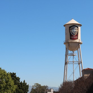 The famous Warner Bros. Tower inside Warner Bros. Studio (Burbank, California)