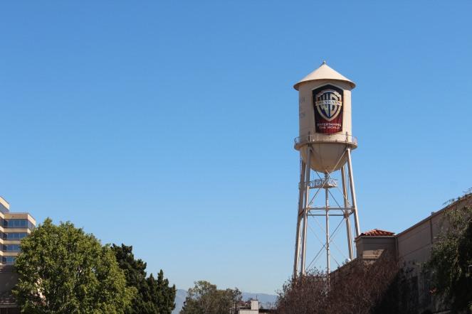 The famous Warner Bros. Tower inside Warner Bros. Studio (Burbank, California)