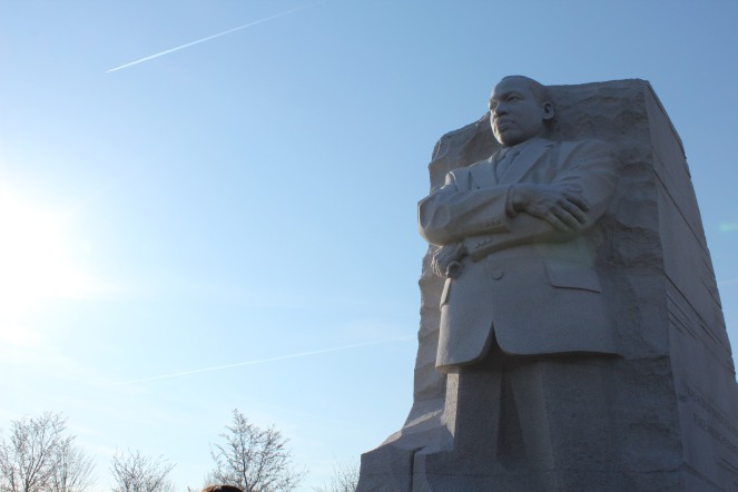 The Martin Luther King Jr. Memorial in D.C.