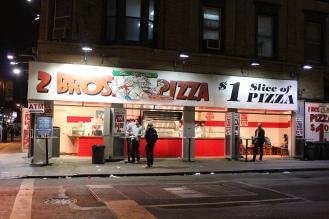 2 Bros. Pizza in New York