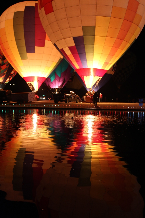 Hot Air Balloon Festival, Gilbert, Arizona