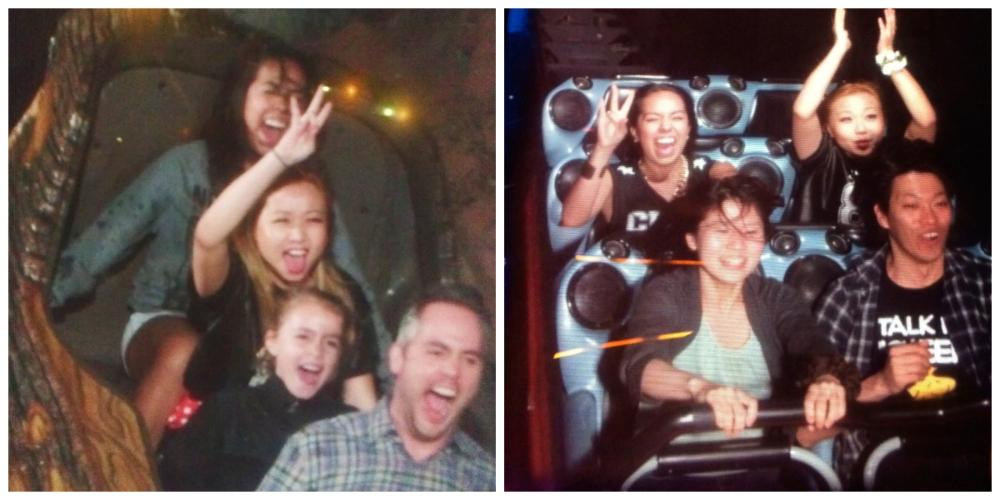 Disneyland Space Mountain & Splash Mountain