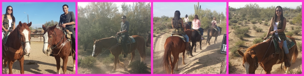 horseback riding in Arizona