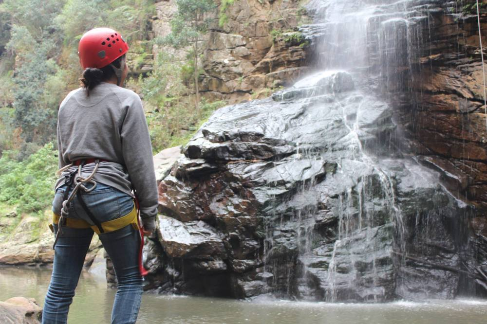 abseiling South Africa